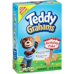 Whole Grain Nabisco Birthday Cake Teddy Grahams 6/10oz Boxes