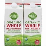 Organic Whole Milk - 2/64oz