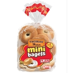 Thomas Mini Bagels (U) - 12ct