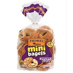 Cinn Raisin Mini Bagels