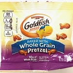 Whole Grain Pepperidge Farm Pretzel Goldfish - 300/.75oz