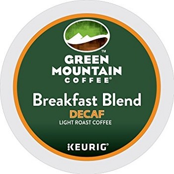 Keurig Breakfast Blend Decaf Coffee K-Cups U