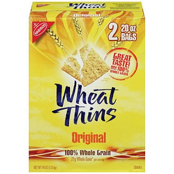Whole Grain Nabisco Wheat Thins - 7.5 lbs