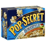 Pop-Secret Homestyle Lite Butter Popcorn (UD) - 30ct