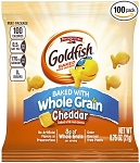 Whole Grain Pepperidge Farm Cheddar Goldfish - 100/.75oz