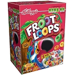 Whole Grain Kellogg's Fruit Loops - 3/44oz (K)