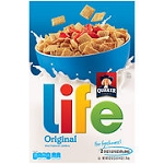 Whole Grain Quaker Life Cereal 3/62oz (U)