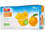 Mandarin Orange Whole Segments in 100% Juice 16-4oz Cups