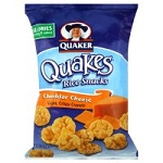 Whole Grain Quaker Mini Rice Cakes Cheddar - 12/3.5oz