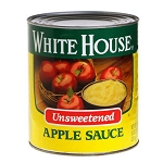 Unsweetened Applesauce #10 Cans