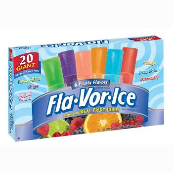Wellesley Farms Freeze Pops Variety Pack (U) - 250ct