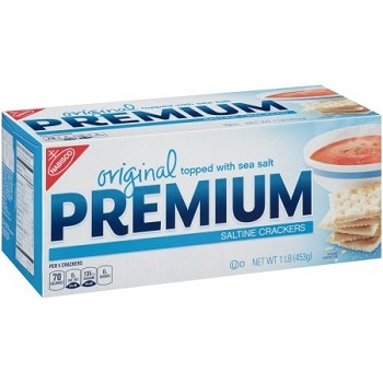 Nabisco Saltines Crackers (UD) -3/48oz