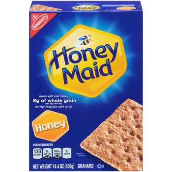 Whole Grain Nabisco Honey Grahams (U)D - 3/3lb