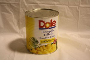 Pineapple Tidbits - #10 Can