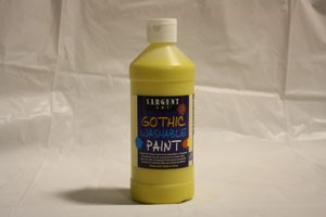 Yellow Paint 16oz - Washable