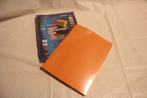 Orange Construction Paper 9