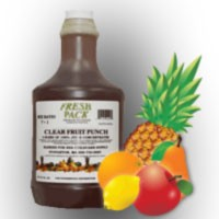 Fresh Pack Clear Fruit Punch Juice