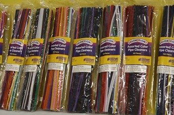 Pipe Cleaners Assorted-100ct.