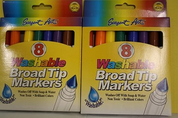 Colorations Washable Markers - 8ct