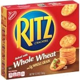 Whole Grain Ritz Crackers (UD) -  6/12.9oz